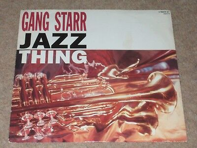 Gang Starr – Jazz Thing   1990   DOWNTEMPO!!