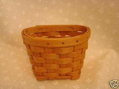 OREGANO Booking Collection Basket Longaberger HOSTESS ONLY Retired *NEW*