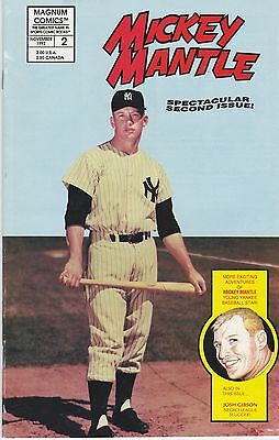 Comic Mickey Mantle New York Yankees #2 November 1992