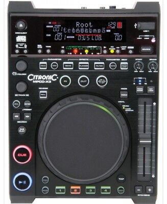 Citronic MPCD-X3 Professional DJ Single Top CD/MP3 Player