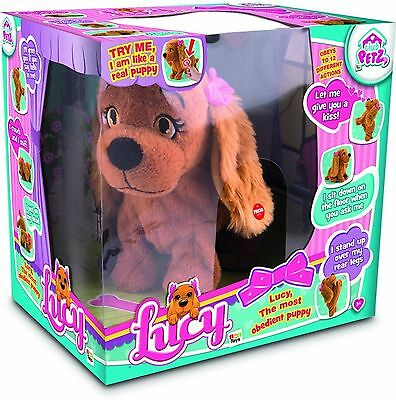 Lucy the Dog Interactive Electronic Pet IMC toys Cuddly Toy Cute Puppy new