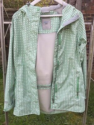 Craghoppers Aquadry Green Waterproof Rain Jacket UK 10 New Without Tags £80