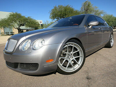 """2006 Bentley Continental Flying Spur Flying Spur Heated Cooled Seats Custom 21"""" ADV.1 Wheels Fully Serviced 2007 2008 2005 gt"""