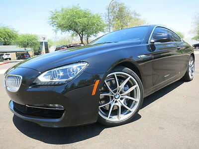 """2012 BMW 6-Series 650i Coupe port Package Driver Assistance Pano Roof 20"""" Whls B&O Sound Loaded 2013 2014"""