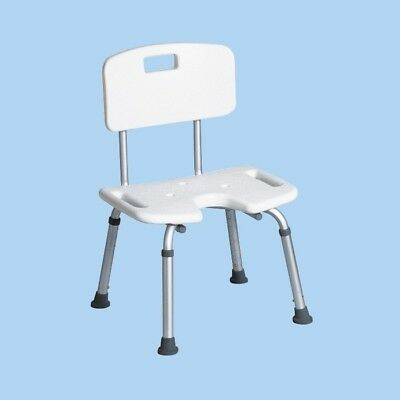 Shower Chair with Backrest Disability People Shape U for Elderly Good Quality