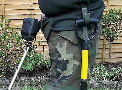 Metal Detecting Draper mini Spade/Shovel (Hook Only) Carry shovel Hands Free. U