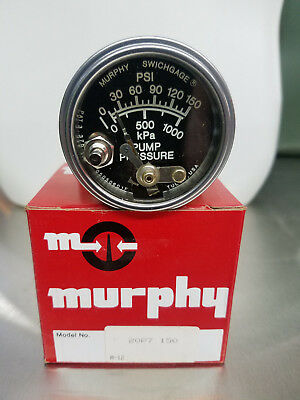 Murphy # 20P7150 Mechanical Lockout Pressure Switch, FREE FREIGHT, NOS