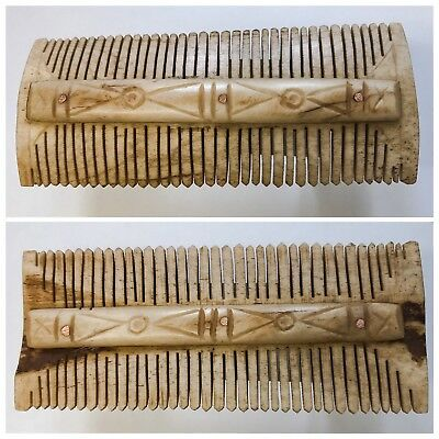 Ancient Roman Period Decorated Hair Comb 2nd-3rd Cent AD
