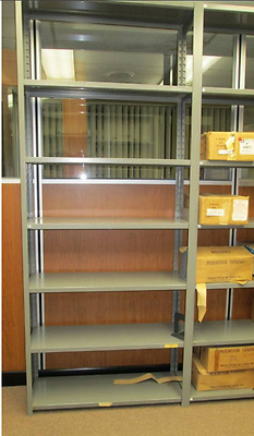 Industrial Steel Shelving - for warehouses, stockrooms and machine shop