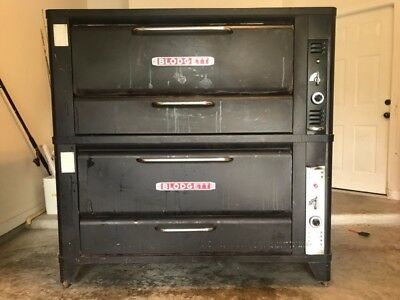 Blodgett Double 951 Natural Deck Gas Pizza Oven
