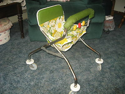 vintage antique baby seat walker! very nice! free shipping!