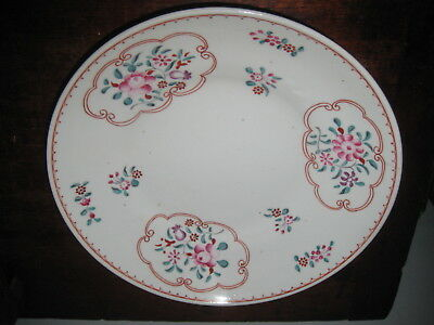 English Early 19Th Century Painted Plate