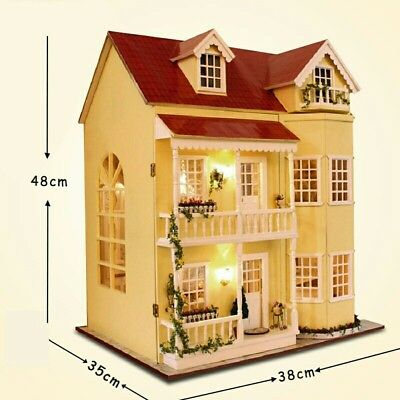 DIY Doll House With Furniture - UK BUSINESS