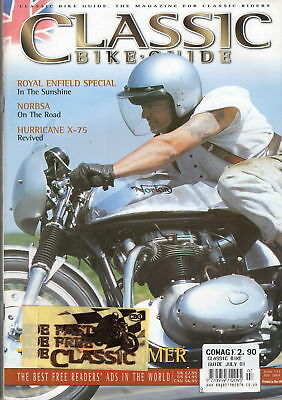 Classic Bike Guide Issue 123 from July 2001