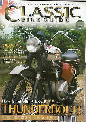 Classic Bike Guide Issue 124 from August 2001
