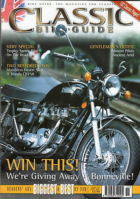 Classic Bike Guide Issue 127 from November 2001