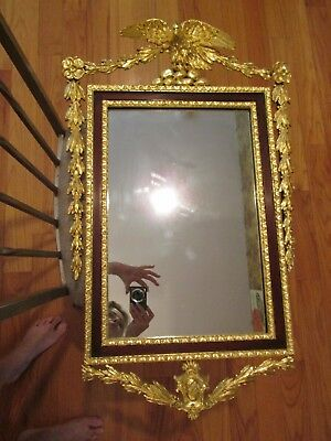 Early 19th Century Federal Eagle Mirror