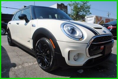 2017 Mini Clubman Cooper S 2017 Cooper S Turbo AWD Wagon Moonroof Premium Salvage Rebuildable Save Big!!!