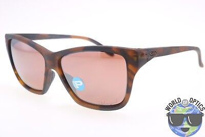 Oakley Women's Sunglasses OO9298-07 HOLD ON Tortoise/VR28 Black Irid. Polarized