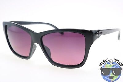 Oakley Women's Sunglasses OO9298-02 HOLD ON Black /Rose Gradient Polarized Lens