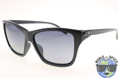 Oakley Women's Sunglasses OO9298-06 HOLD ON Black w/Grey Gradient Polarized Lens