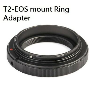 T2-EOS T T2 screw thread mount lens to Canon EOS EF EF-S camera adapter ring UK