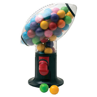 Re-loadable Football Shaped Snack Dispenser, Black