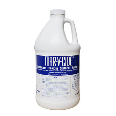 MAR-V-CIDE Disinfectant * Germicide * Fungicide * Virucide - 1 Gallon