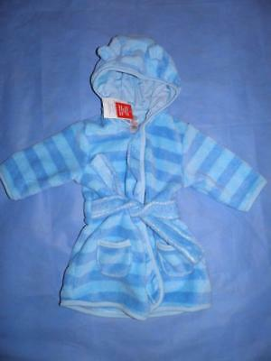 TU Baby Boy Soft Baby Dressing Gown Bath Robe age 3-6 months New with tags