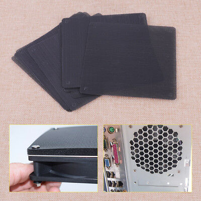 New 10pcs 140mm PVC Computer PC Cooler Fan Case Cover Dust Filter Mesh