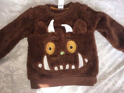 The Gruffalo Baby Boy Jumper, New Without Tags,size 6 -9M