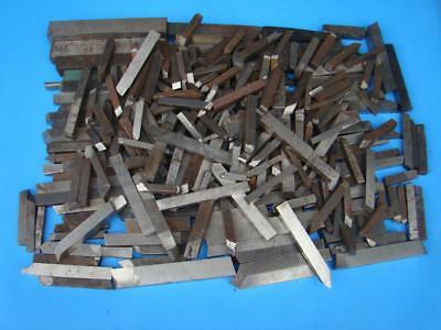 41 Lb. Mixed Lot Of Used Machinist Lathe Milling Cutters Tools