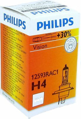 Auto bulb H4 Rally for race only C1 100/55W 12V P43t-38 Philips lamp light scoot