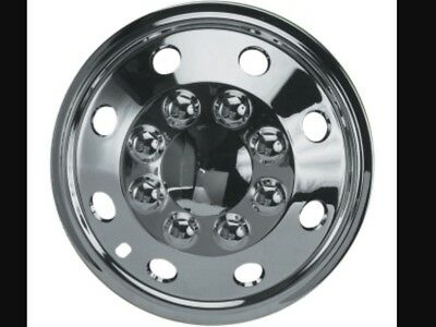 "15"" Vw Crafter T4 T5 T6 Chrome Extra Deep Dish Wheel Trims Hub Caps Set Of (4)"