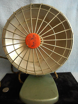 Vintage Rexall Heater Electric, Tilts, Works, Chicken Warmer, USA Made, X-365
