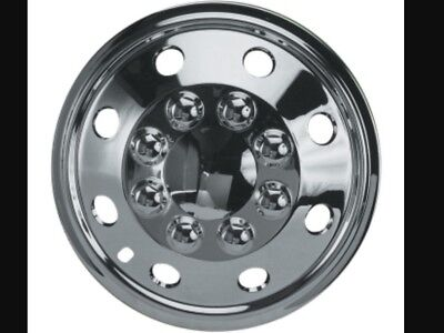"16"" Vw Crafter T4 T5 T6 Chrome Extra Deep Dish Wheel Trims Hub Caps Set Of (4)"
