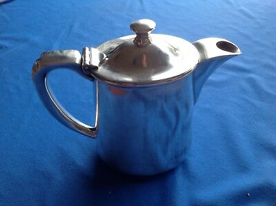 Vintage Or Antique Silver Plated Hot Water Table Jug By Walker And Hall