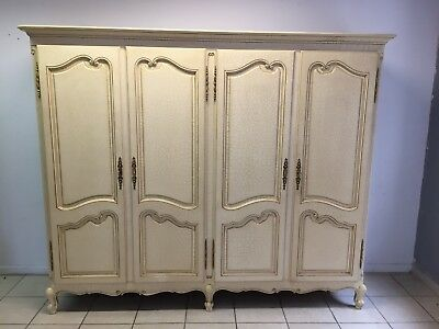 Wardrobe 4 door Louis XV,French style,Delivery possible, see description