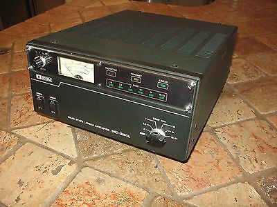 Icom 2kl Solid State Power Amplifier Fully Functional with Power Supply