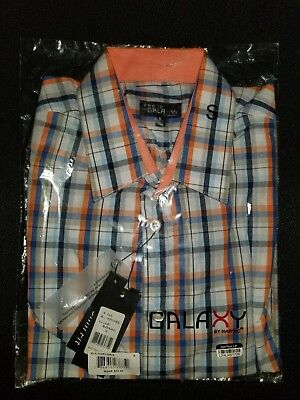 Galaxy by harvic long sleeve dress shirt