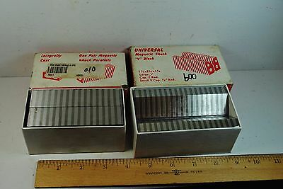 Fisher Machine Magnetic Chuck Parallels & Long V Block