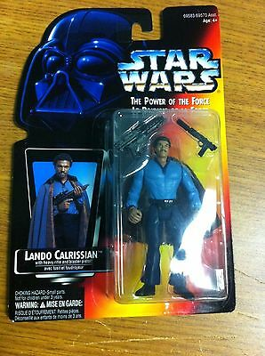 1995 Kenner Canada Star Wars Power Of The Force Lando Calrissian Carded Figure