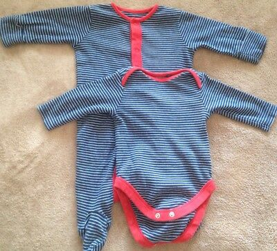 NEXT SET OF SLEEPSUIT & LONG SLEEVE BODYSUIT FOR UP TO 3 Months