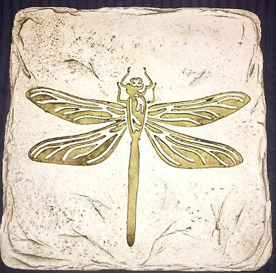 Handmade, Clay-fired, Glow-in-the-Dark, Hanging Dragonfly Sculpture