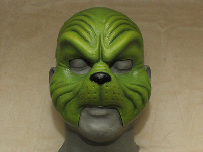 Grinch Face Prosthetic Mask - Christmas - Cosplay - Costume - Holiday - Theater