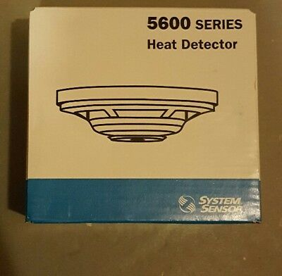 System Sensor Heat Detector 5600 Series 5504 Many Available New In Box