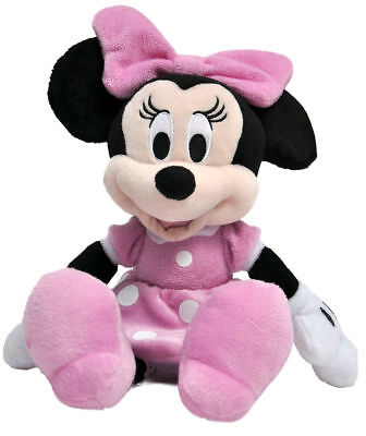 """NWT Disney Minnie Mouse 11 """" Plush Beanbag Doll - Stuffed Toy Authentic Licensed"""