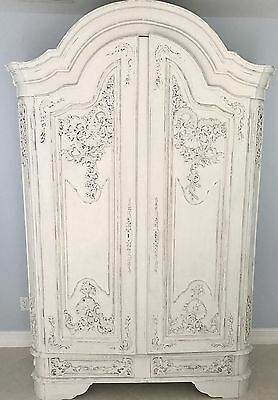 Antique French Shell Armoire