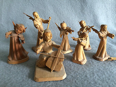 alter weihnachtsschmuck  germany christmas engel holz angels