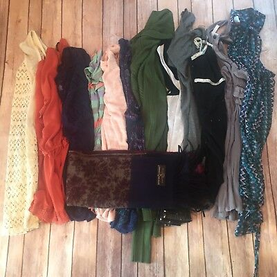 Womens 13 Piece Lot Blouses Summer And Winter Shirts Size Large *Read*